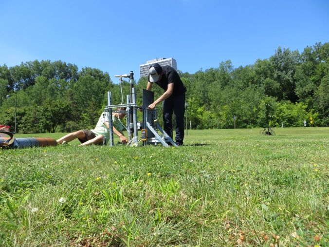 Assembling the Test Stand
