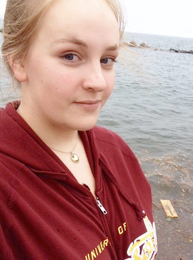 Sophia Litkewitsch by a lake