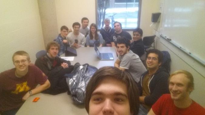 LPRD Rocketry General Meeting Selfie