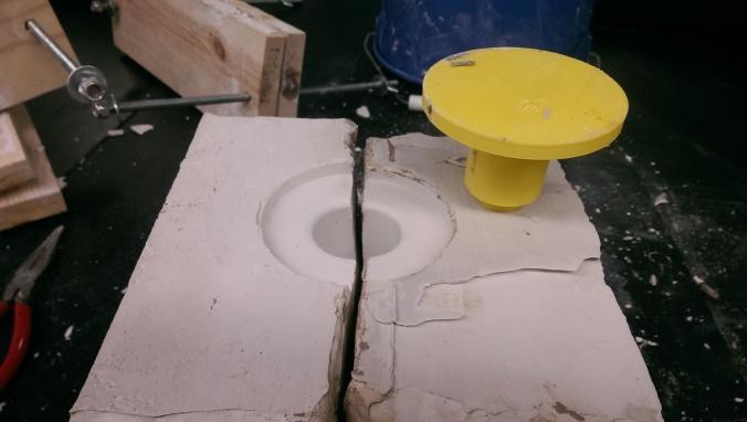 LPRD Rocketry ceramic rocket engine prototyping mold