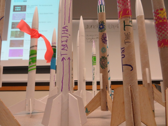 Fleet of rockets build for prototyping for LPRD Rocketry by Tesla Works