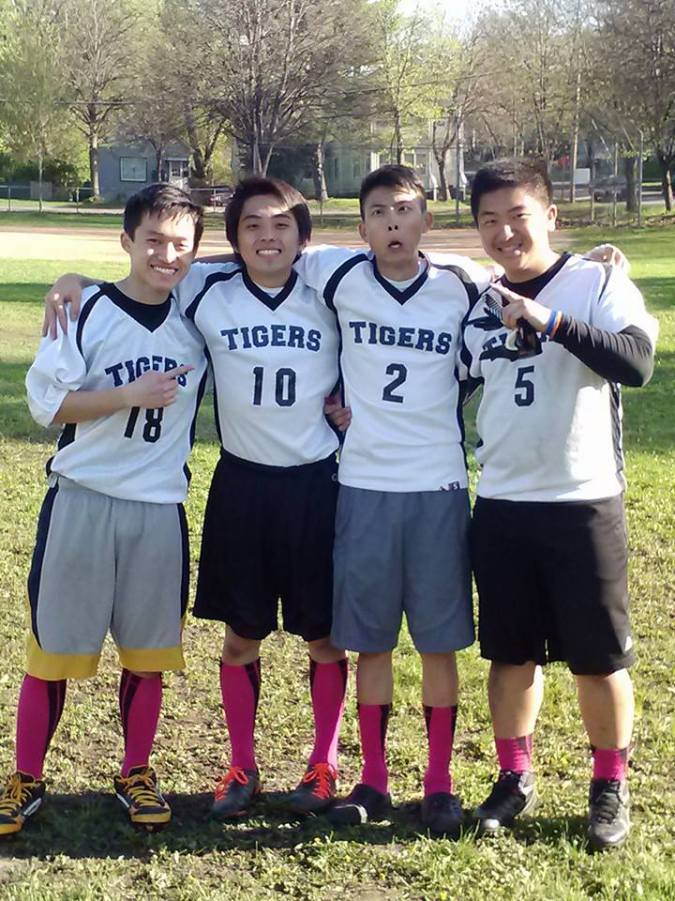 LPRD Rocketry's Jame Moua and Flag Football