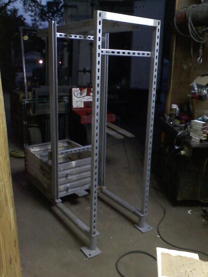 LPRD Rocketry Vertical Test Stand Skeleton