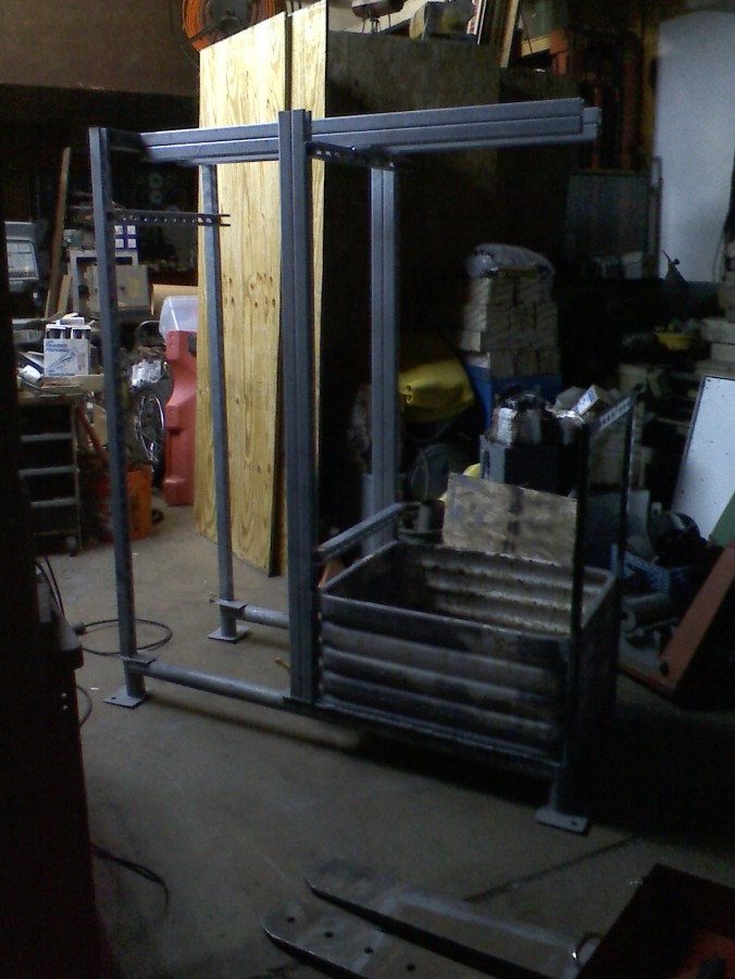 LPRD Rocketry Vertical Test Stand