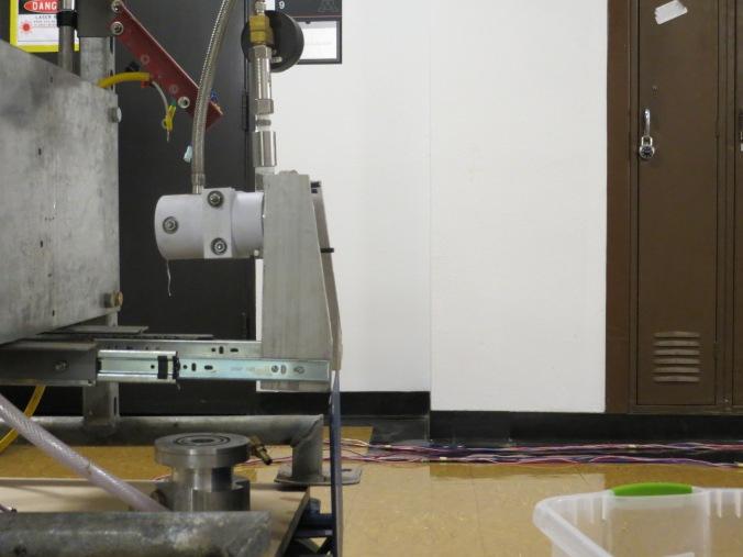 LPRD Rocketry flow rate testing