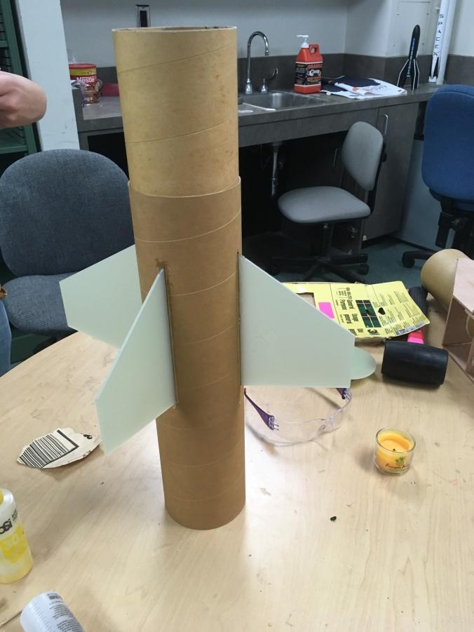 LPRD Rocketry asymmetric rocket fin mount